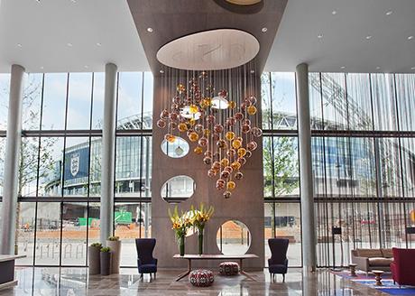 London Hilton Wembley, Entrance Lobby